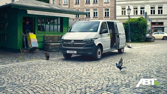 The all new eTransporter starting at £415 per month.