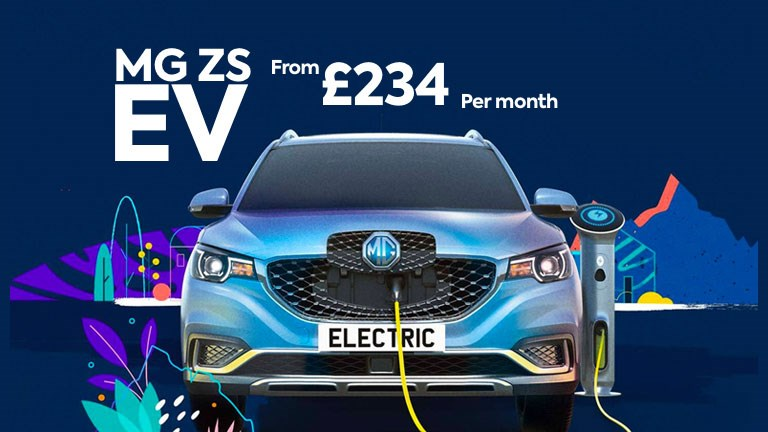 MG ZS EV From £234 per month
