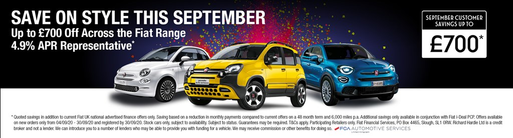 Fiat September Saving