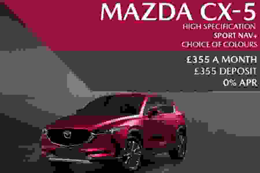 High Specification Mazda CX-5 Sport Nav+ SUV with a '70' plate - Now £355 A Month | £355 Deposit With 0% Finance