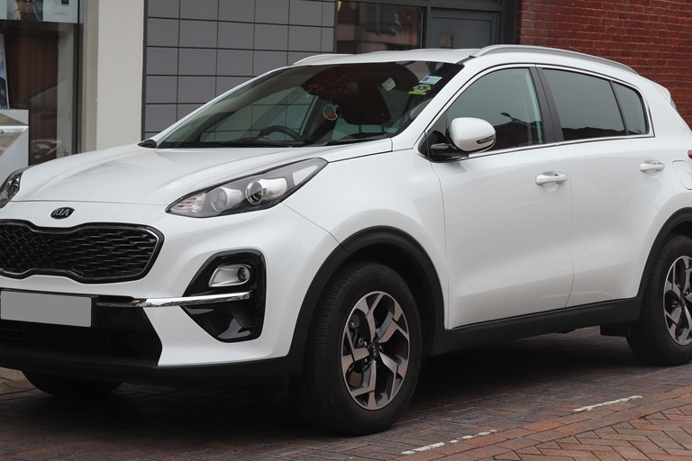 Sportage Overtakes Qashqai as nation's favourite 4x4