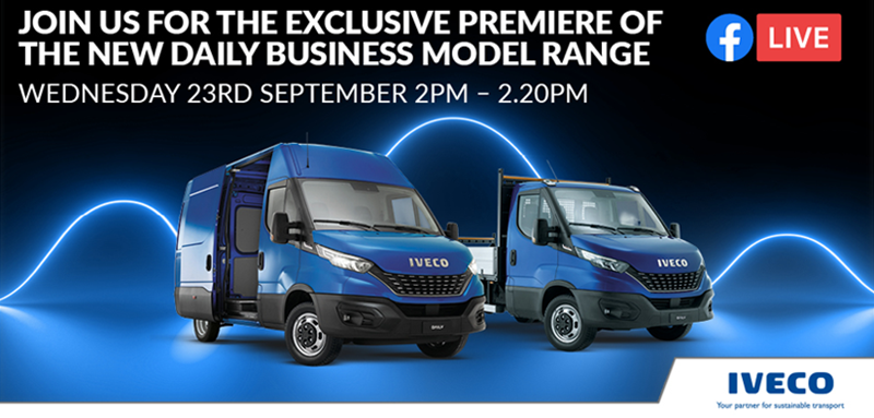 Join us for the Virtual Launch of the New IVECO Daily