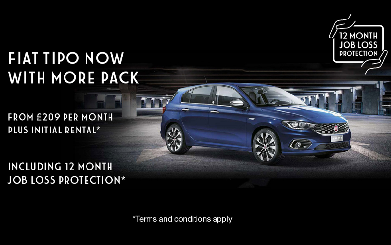 Drive away a Fiat Tipo for less