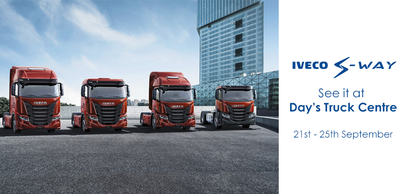 Come and See the New IVECO S-WAY at Day's Truck Centre