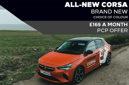 All-New Vauxhall Corsa - £169 A Month