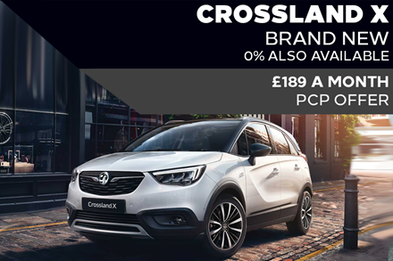 Brand New Vauxhall Crossland X - £189 A Month