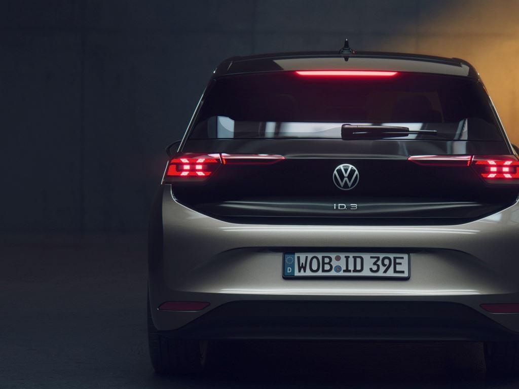 Volkswagen ID3 Rear View
