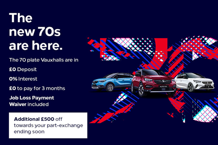 Receive an additional £500 towards your part-exchange
