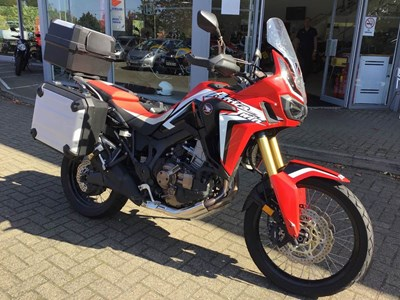 Africa Twin Trade In Offer - Now running in October