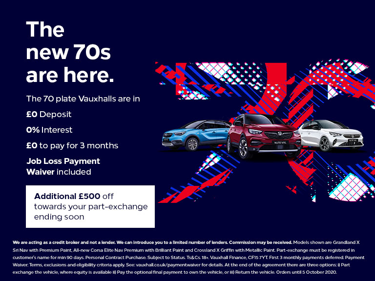 Additional £500 - 0% APR and £0 Deposit across the range