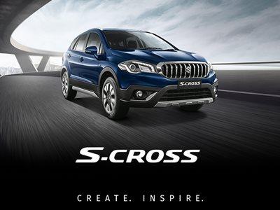 Suzuki S-Cross Hybrid Business Lease Offer