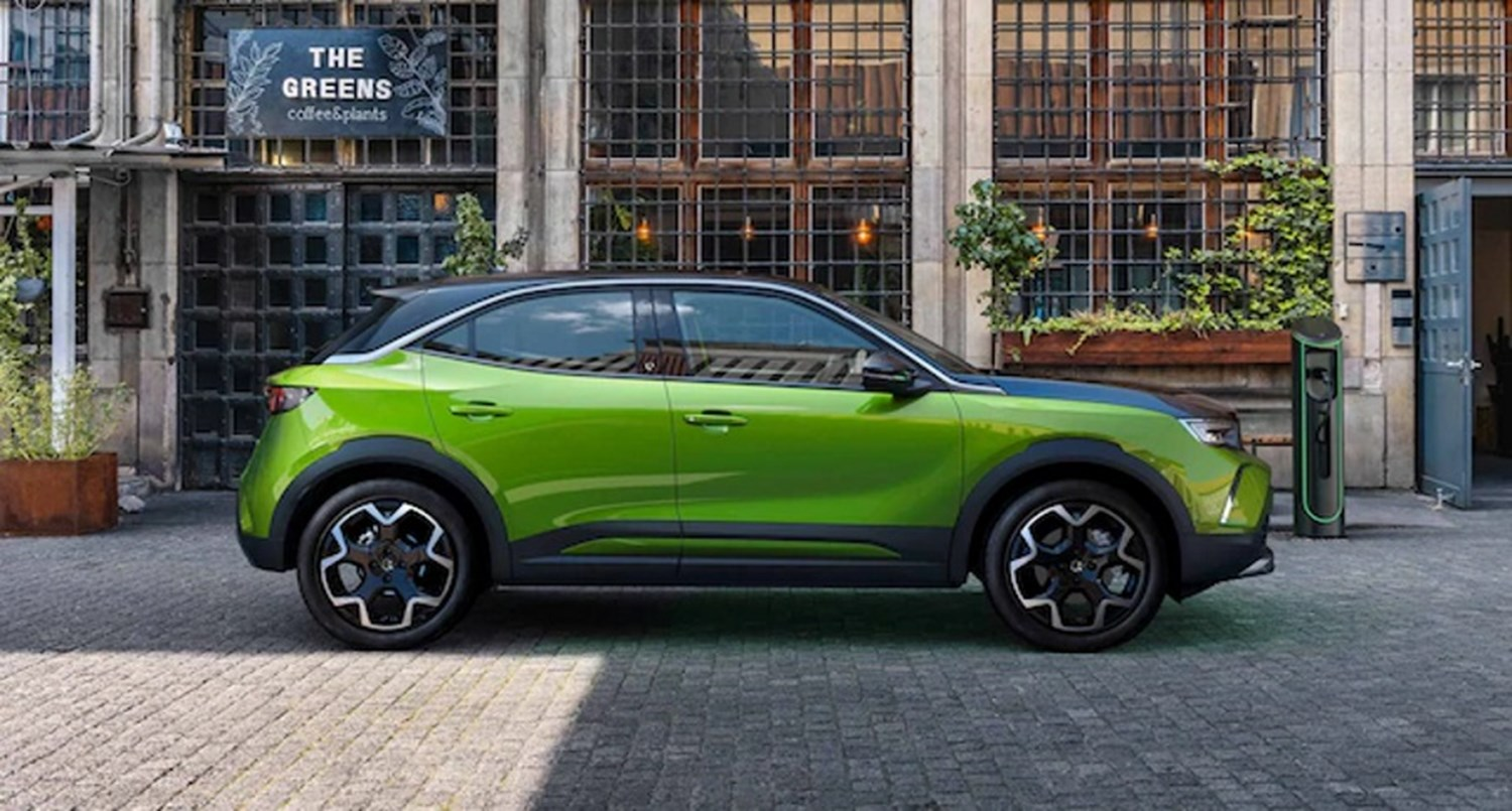 all-new mokka exterior image