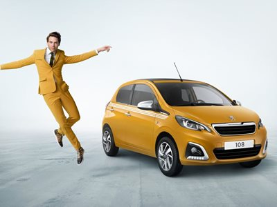 Peugeot 108 Collection Business Lease Offer