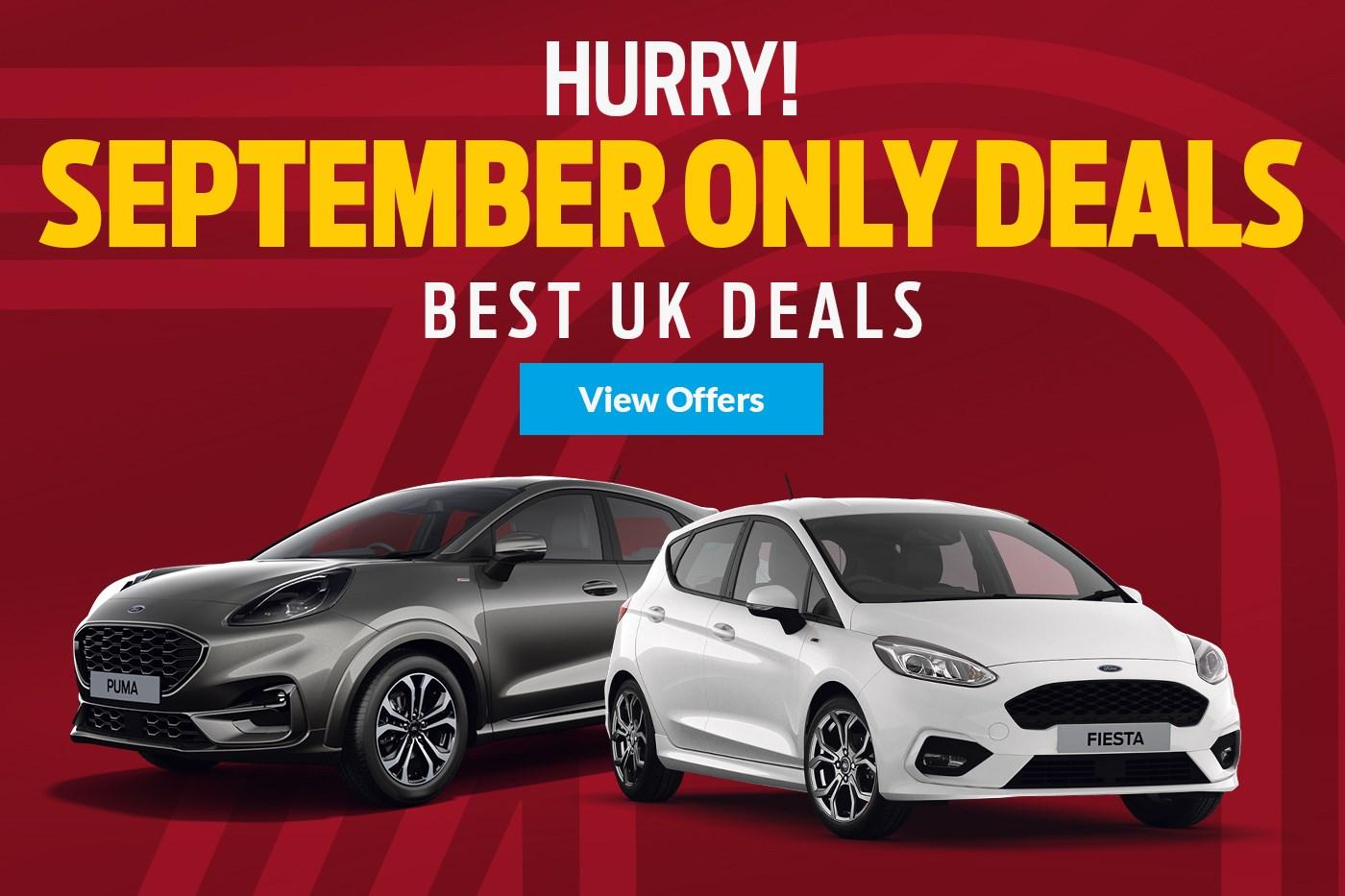 September Only Deals