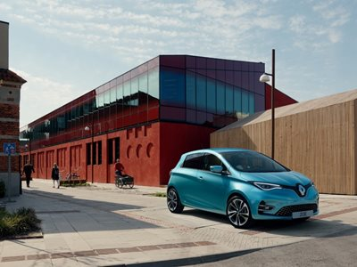 New Renault Zoe Business Lease Offer
