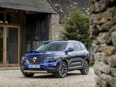New Renault Koleos Business Lease Offer