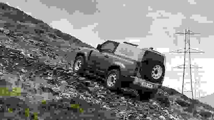 New Land Rover Defender 90 Hard Top