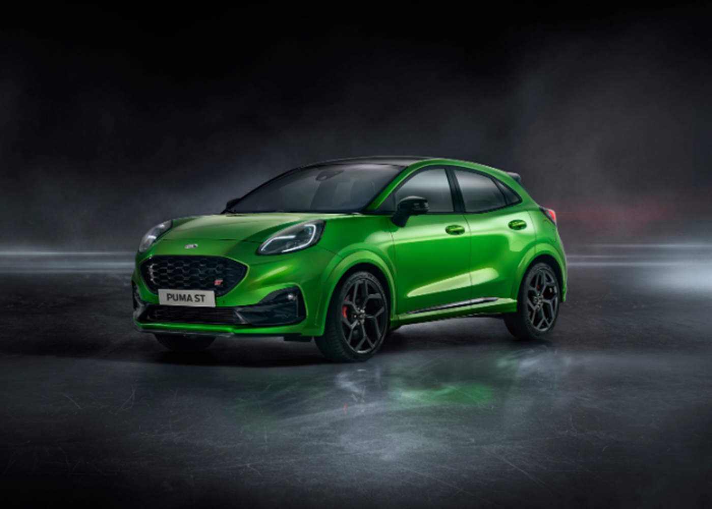 New Ford Puma ST in Mean Green