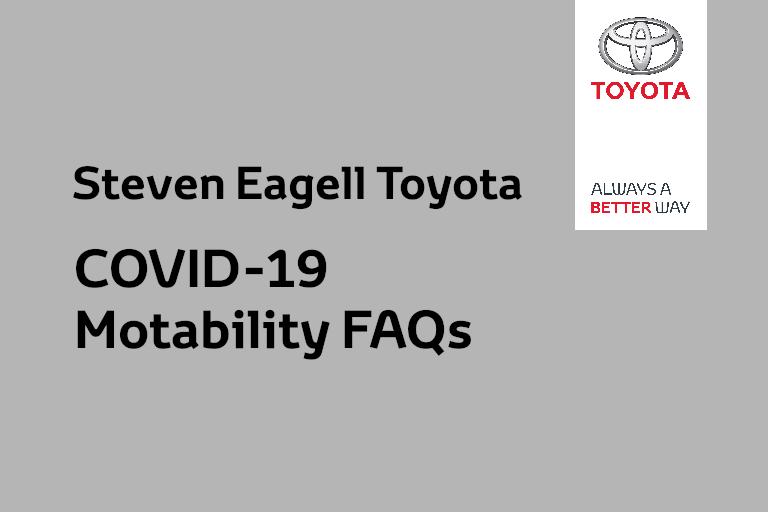COVID-19 Motability FAQs