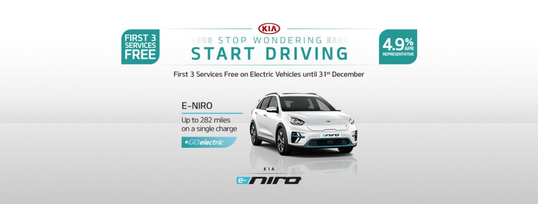 Kia eniro with offer