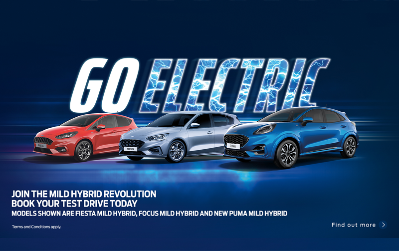 Go Electric with Day's Ford