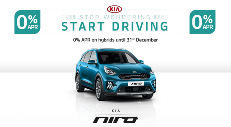 Kia Niro with 0% APR - from £230 per month