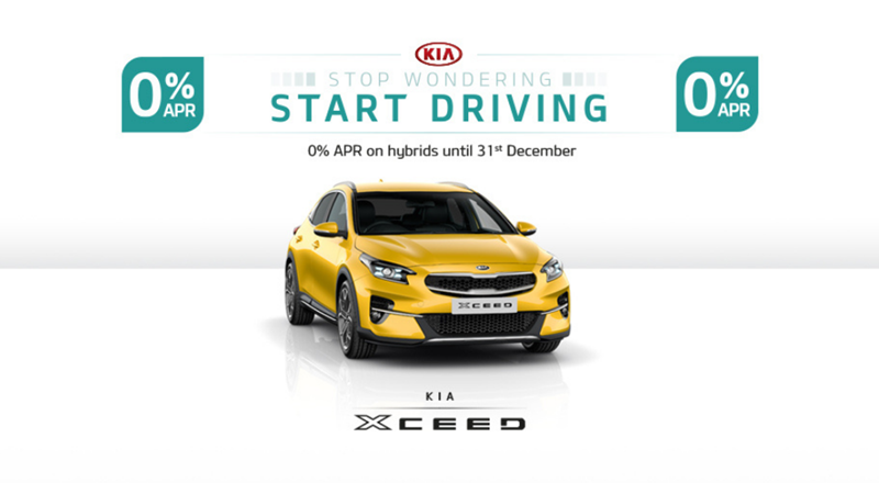 Kia XCeed with 0% APR - from £199 per month