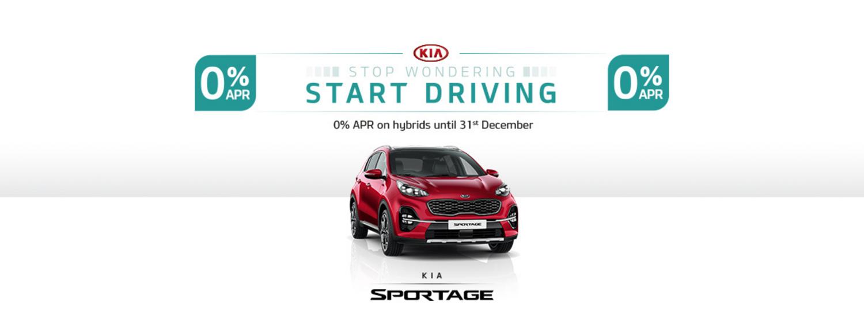 Kia Sportage hybrid with offer