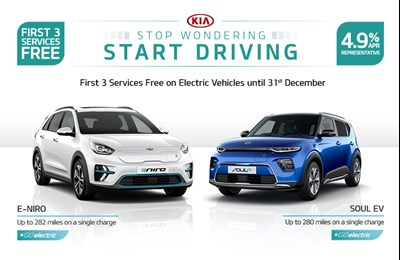 EV Electric Car Offer First 3 Services Free