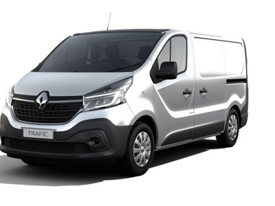 Renault Trafic Hire Purchase 0% Offer