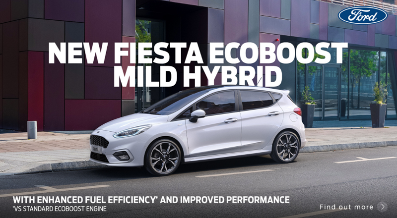 Ford Fiesta Mild Hybrid with 0% APR