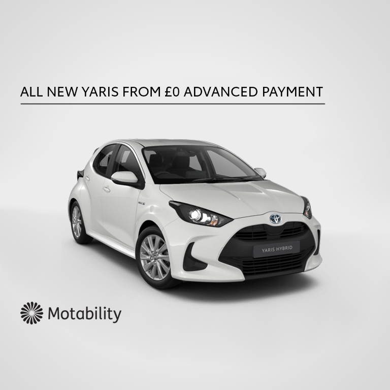 All New Yaris Motability Offer