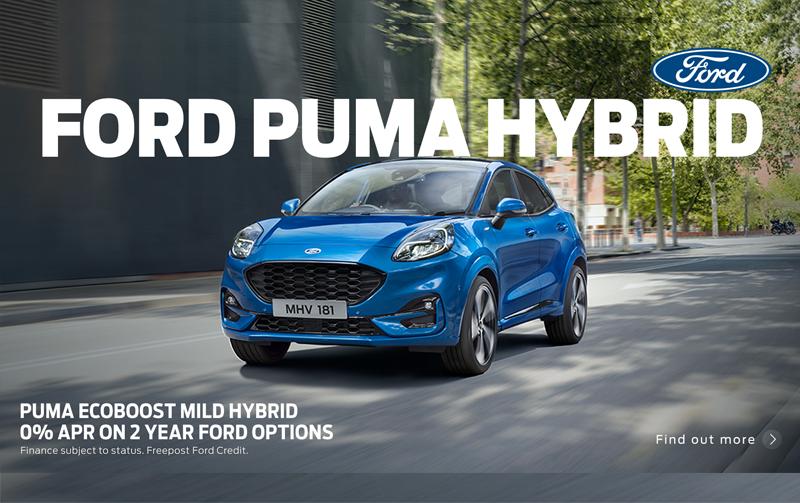 Ford Puma Hybrid on 0% APR