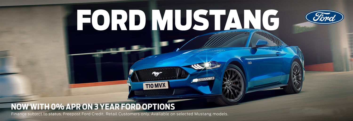 Ford Mustang 0% APR Offer