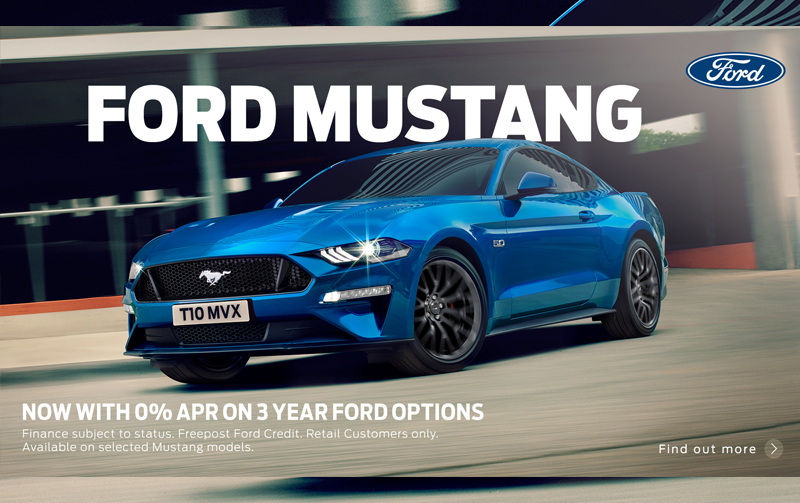 0% APR on Ford Mustang