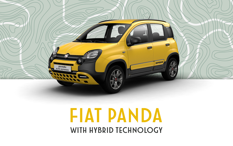 Fiat Panda Hybrid from £173pm