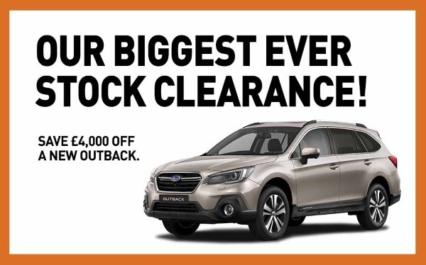 Autumn Special Outback Offer