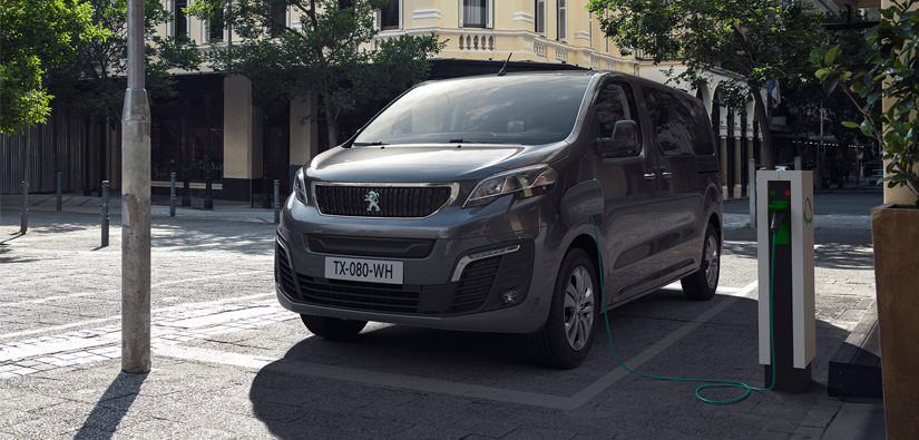 Reserve the New Peugeot e-Traveller