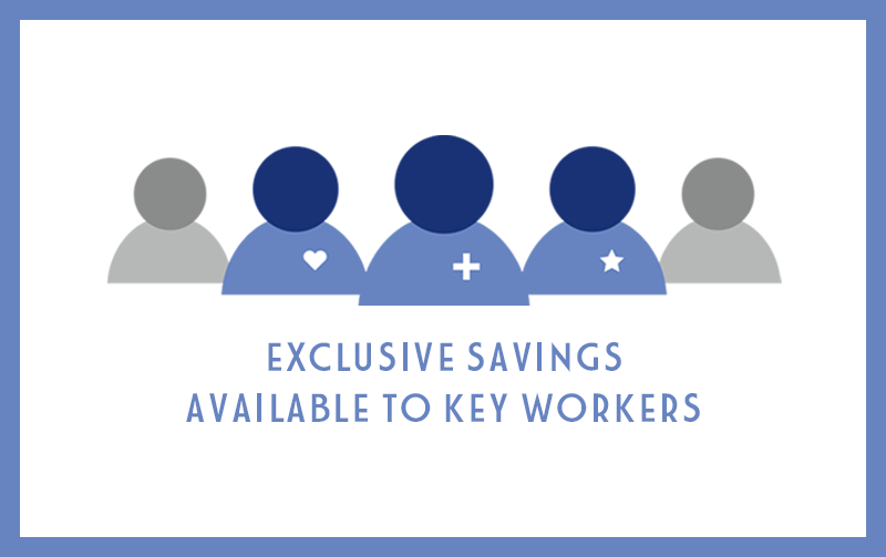 Exclusive Savings for Key Workers