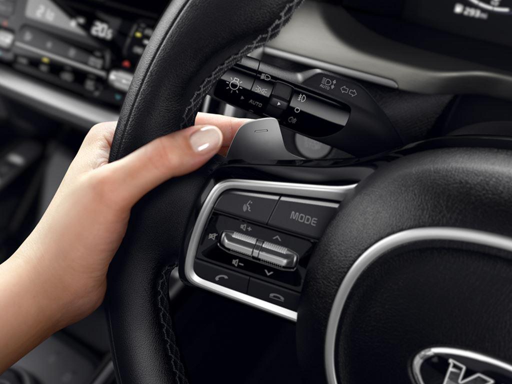 all new Kia Sorento steering wheel - Startin Kia redditch