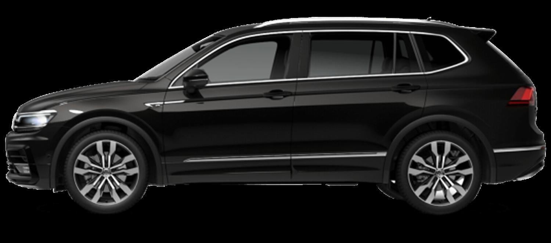 Volkswagen Tiguan Allspace R-Line in Black