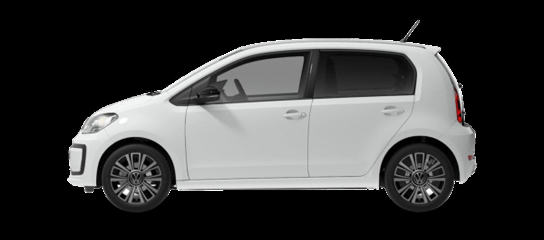 White VW up Black Edition