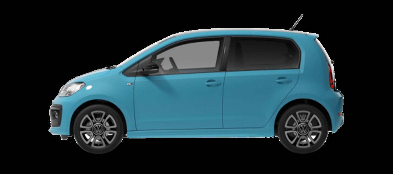 Blue VW up R Line