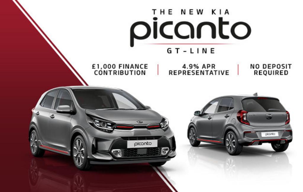 New Kia Picanto at Chippenham Motor Company
