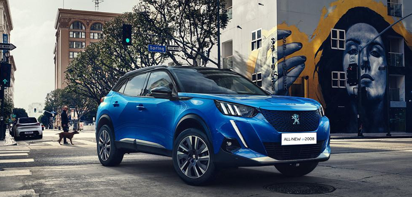 £800 off the advance payment on Peugeot Electric vehicles