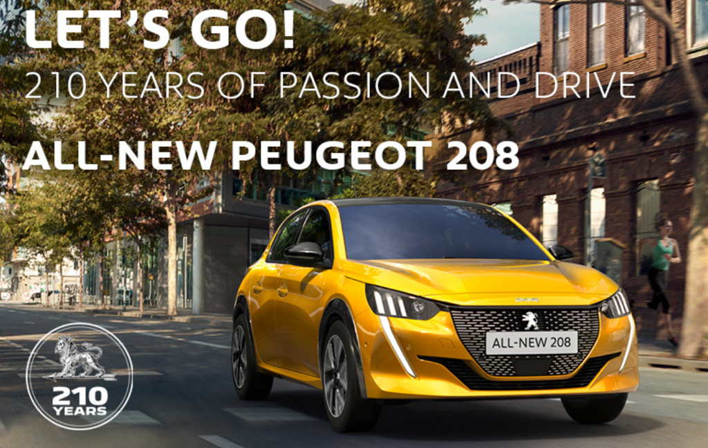 All-New Peugeot 208 at Chippenham Motor Company