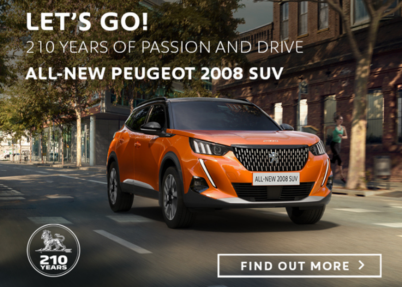All-New Peugeot 2008 SUV at Chippenham Motor Company
