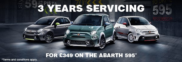 Abarth Servicing Offer