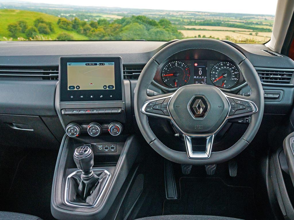 Startin Renault Worcester - clio interior