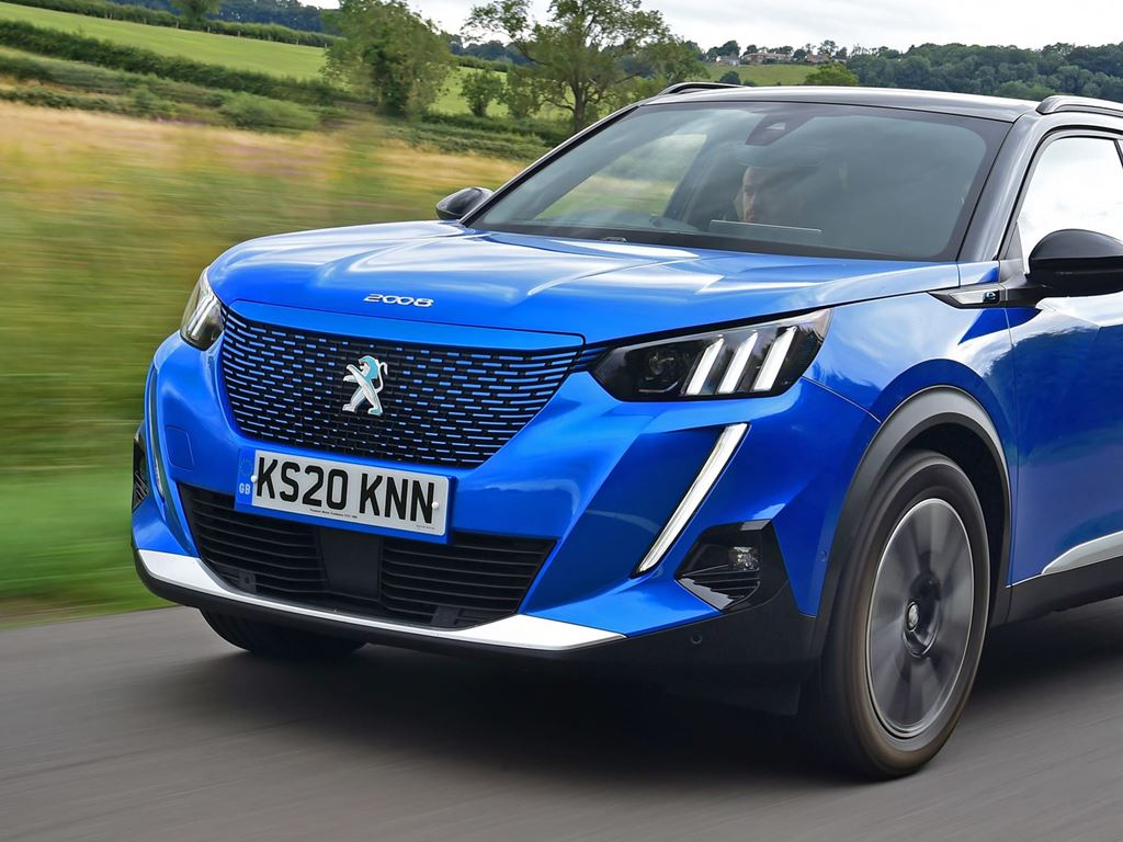 Peugeot e 2008 at your local Startin Peugeot Dealership in Worcestershire